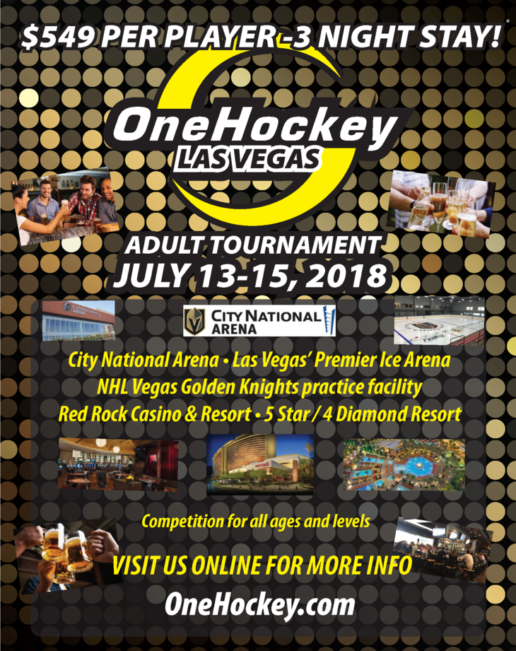 General Information Onehockey Las Vegas Adult